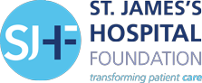 Vivian with logo | St. James's Hospital Foundation