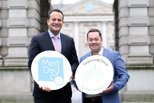 Introducing Neven Maguire as our Target Lung Cancer Ambassador at St James's Hospital