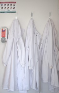 Clinical Research Facility Lab coats