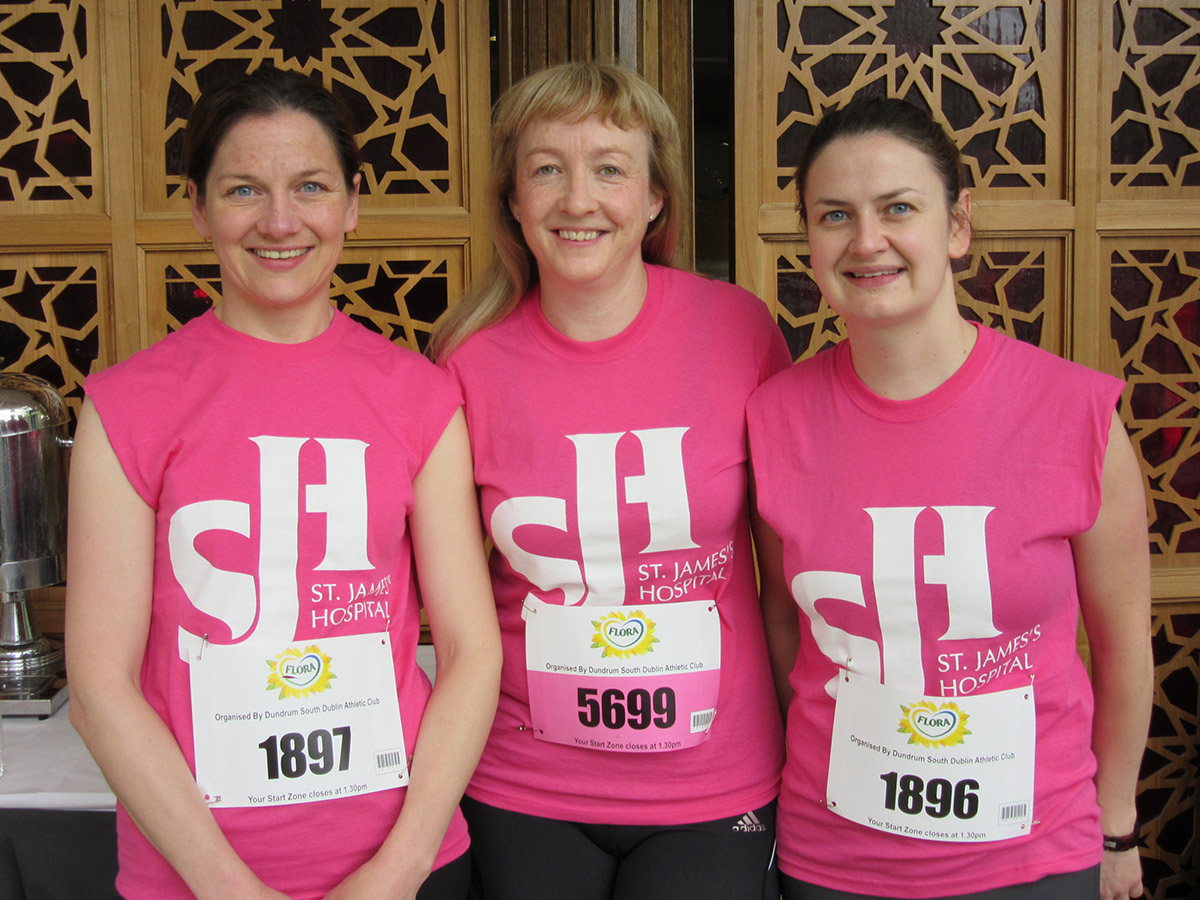 Joanne Rogers 46 mins), Anne Grogan and Grace McNally (59 Mins) | St. James's Hospital Foundation