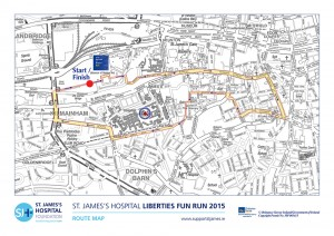 Run the Liberties Map 2015