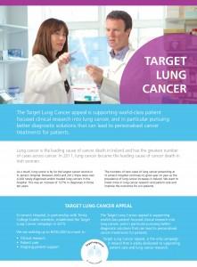 Target Lung Cancer leaflet