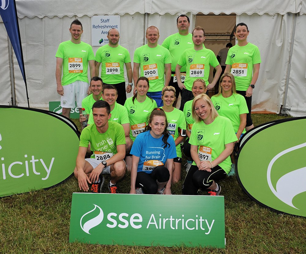 Katie Cooke takes part in the SSE Airtricity