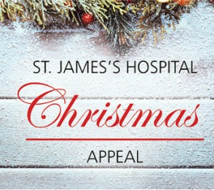 photo of St. James's Hospital appeal banner