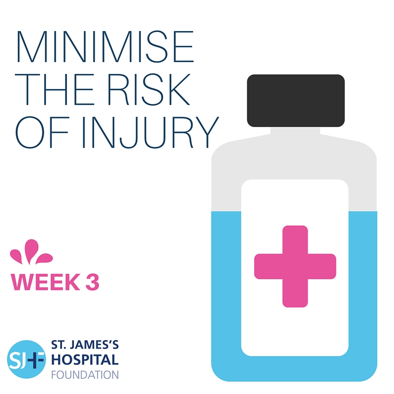 Minimising the risk of injury