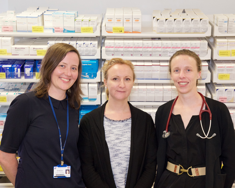 Pharmacy Staff in GUIDe Clinic