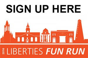 Sign up here for the Liberties Fun Run