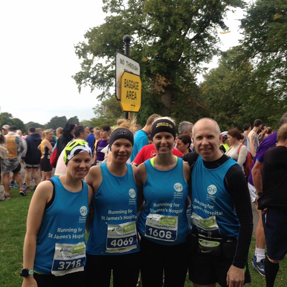 team babs half marathon