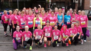 group photo of the Jog for James's Team