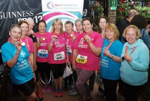 photo of Jog for James's fundraising for Gynae Cancer Care
