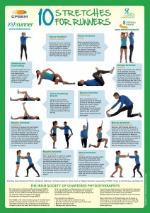 stretches exercise runners