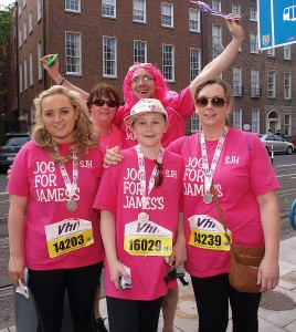 photo of VHI Mini Marathon team