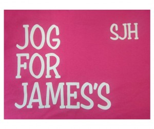 photo of jog for james logo
