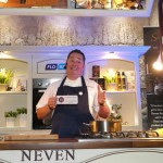 Neven annoucing first prize winner